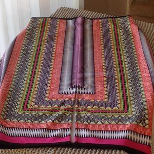 Bisou Bisou Multi colored skirt